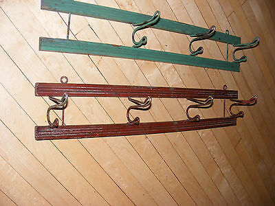 Vintage Coat Rack/Hat Hanging Rack for Wall - Folding Hooks