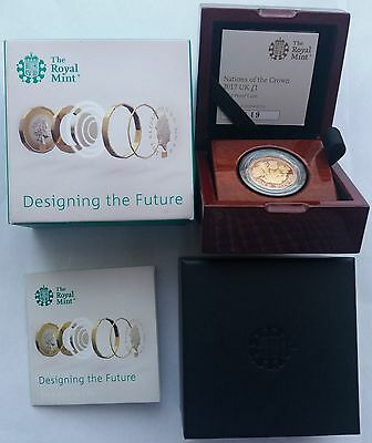 2017 Nations Of The Crown  Gold Proof & Silver Proof  £1 One Pound Coins
