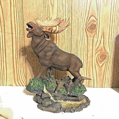 Classic Wildlife Collection Moose Figurine