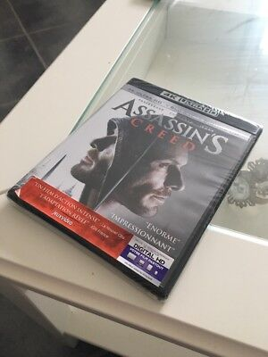 Blu-ray / Et DVD Ultra Hd : Assassin's Creed