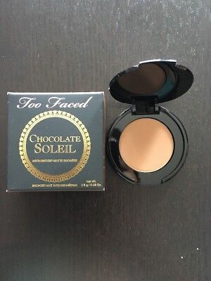 Bronzer Chocolate Soleil Too Faced 2,5g Medium Deep Matte Bronzer