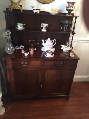 Superb 8 Drawer Victorian Mahogany Chiffonier