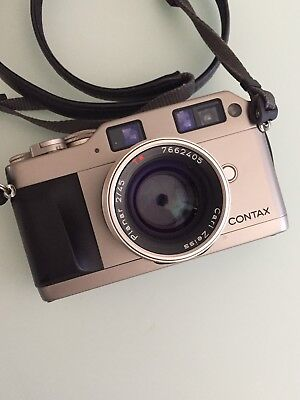 Contax G1 + Carl Zeiss 45mm F2