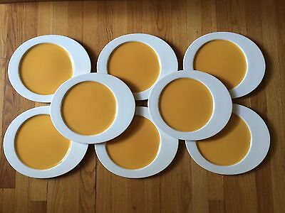 Lot/Set of 8 - Villeroy & Boch Beach Party Dinner Plates - SUPER Condition