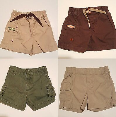 Lot of 4 Size 6 Months Baby Boy Carter's, Circo, Shorts. Bottoms.