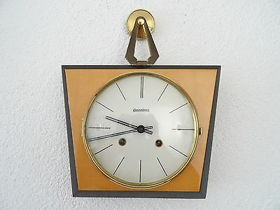 Commodoore HERMLE Retro Kitchen German Wall Clock Vintage (Junghans Kienzle era)