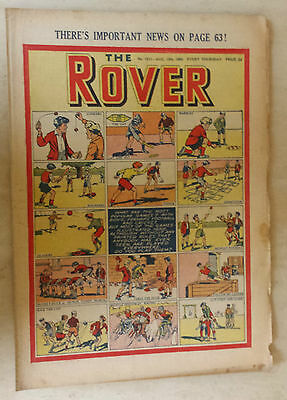 Comic- THE ROVER, NO 1311, 12th August 1950