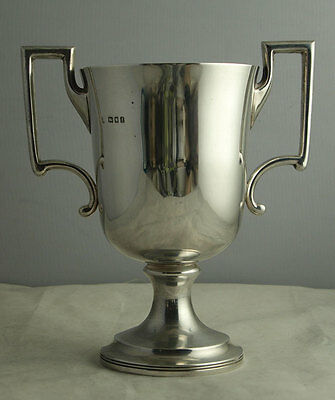 George V Solid Silver Trophy Cup - 425g - London 1921.