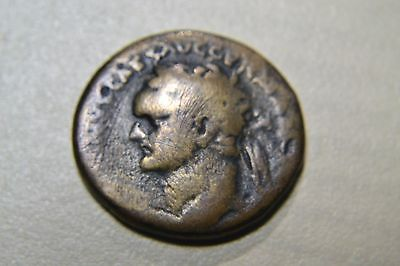 JUDAEA CAPTA AE22 Domitian struck 83 AD CAESAREA MARITIMA MINT BIBLICAL100% real