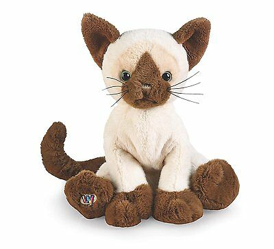 Siamese Stuffed Animals Teddy Bears Cat Toy Gift Plush Cute White Brown New