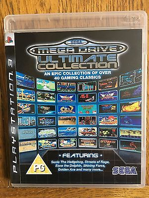 SEGA Mega Drive Ultimate Collection (unsealed) - PS3 UK Release New!