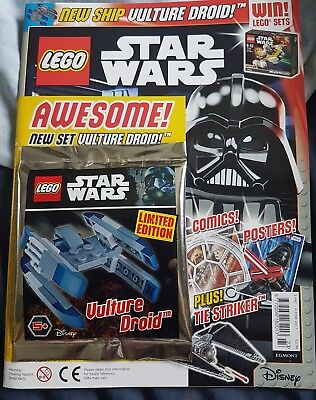 LEGO star wars Magazine 3 May- 6th June With free gift
