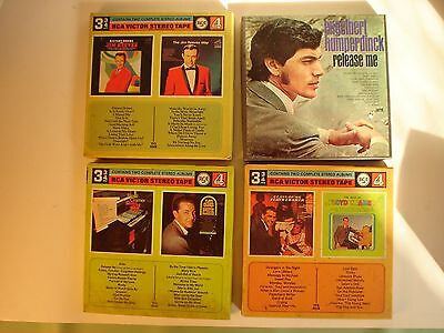 4 Track 3 3/4 reel to reel. 2 Floyd Cramer 1 Jim Reeves. 2 Track Humperdinck.