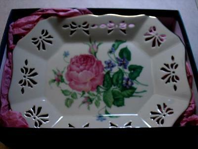 Lenox Victorian Rose Tray from Mother's Day Collection in original box - Unused