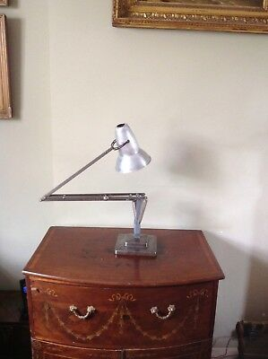 Early Herbert Terry 1227 Anglepoise Lamp 3 Step Shade
