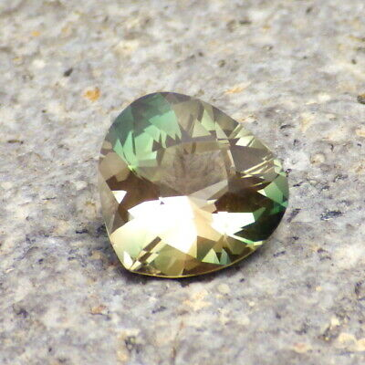 CHROME GREEN-TEAL DICHROIC SCHILLER OREGON SUNSTONE 1.88Ct FLAWLESS-RARE COLORS!