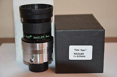 "Tele Vue 2"" & 1.25"" 9mm Type 1 Nagler with caps & box"
