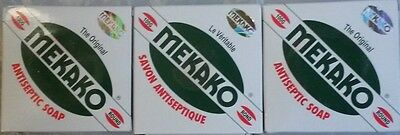 3x Mekako The Original Antiseptic Soap 100g (3 pieces)