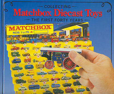 """Gspkw """"collecting Matchbox Diecast Toys-The First Forty Years""""  Nearly New !"""