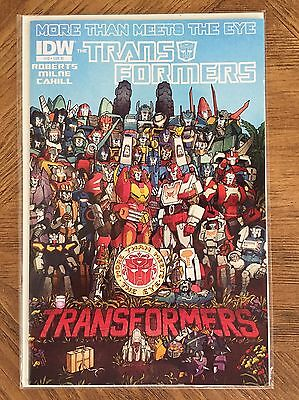 Transformers MTMTE More Than Meets the Eye 12 RI Variant RARE IDW NM Beatles