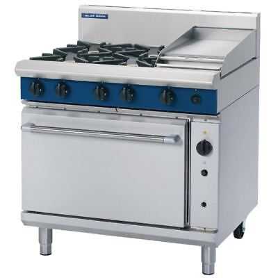 Blue Seal 900mm Convection Oven Range with 4 Burners and Griddle