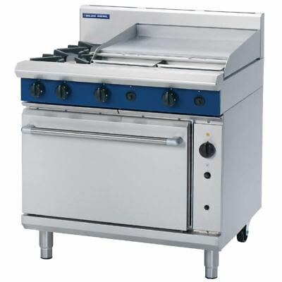 Blue Seal 900mm Convection Oven Range with 2 Burners and Griddle