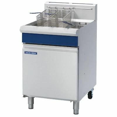 Blue Seal Single Pan VeeRay Deep Fryer 31 Ltr Capacity with Mechanical Controls