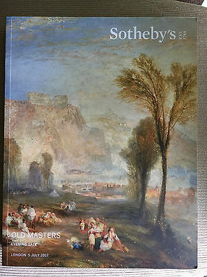 Sotheby's Old Masters  Evening Sale 5 July 2017 London