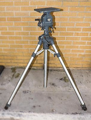 Vintage Heavy Duty Majestic Chicago Tripod & Head For Large Format Camera, Scope