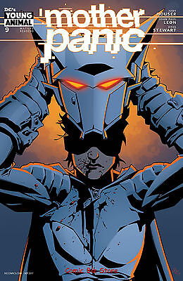Mother Panic #9 (2017) 1St Printing Dc Young Animal Variant Cover
