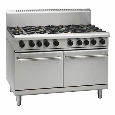 Waldorf 1200mm Static Oven Double Oven Range with 2 Burners and Griddle