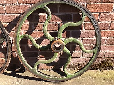 Heavy Cast Industrial Large Cog Wheels Decorative Steam Punk - 4 Available
