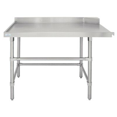 Vogue Dishwasher Outlet Table L 1200mm Stainless Steel