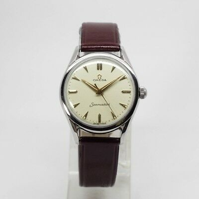 Vintage Omega Seamaster Hand Winding Watch Cal 420