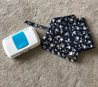 Baby Travel Changing Mat x2- JoJo Maman Bebe Clutch & B Box, Practical & Stylish