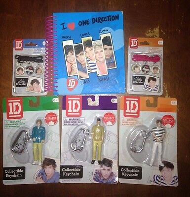 One Direction Keychains and Bracelet Lot PRICE DROP!