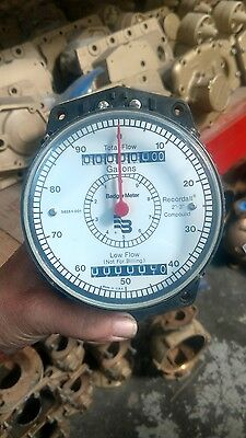 """New Badger Water Meter Recordall 2""""-3"""" Compound Register Gallons Low Flow"""