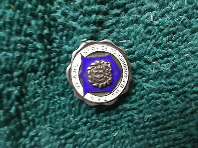 sterling b.f.goodrich 10 years of service pin