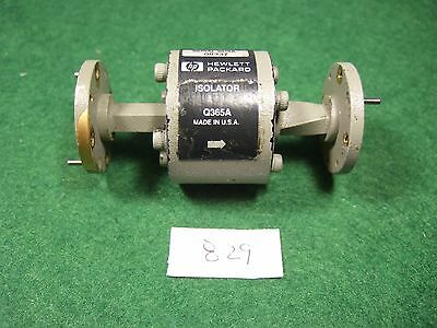 HP Q365A 35-50 GHz WR22 Waveguide Isolator. Used.