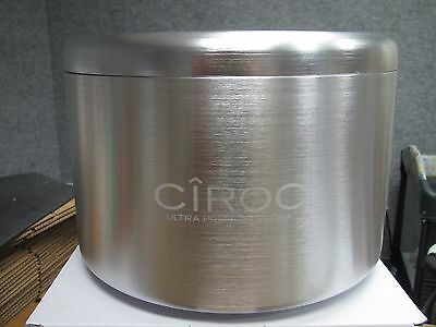 Ciroc Vodka Aluminum Ice Bucket! Very Rare! Promo Only! Puff Daddy! Large! New!