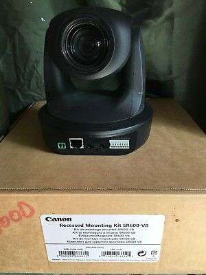 CANON VB-C60  Network Security Camera  w/ recessed mounting bracket