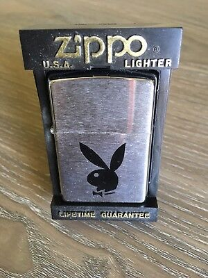 NEW Playboy Zippo Lighter Made in USA Free Shipping