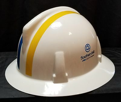 SOUTHERN BELL / BELL SOUTH  Hard Hat  V-GARD  MSA NOS 1986