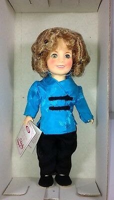 """Vintage Shirley Temple 8"""" Stowaway Ideal Doll 1982 W/tags Nib Never Displayed!"""