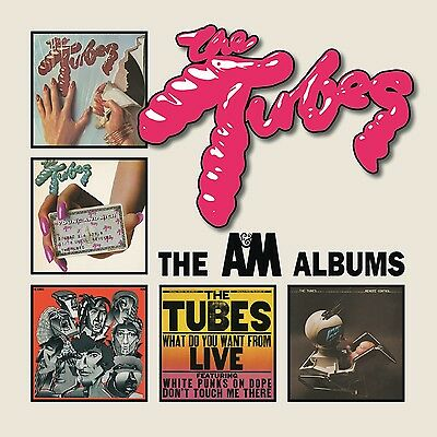 The Tubes - The A & M Albums - New 5CD Album