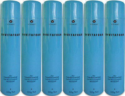 Vivant Revitafoam 125 Ml The Conditioning Mousse X 6