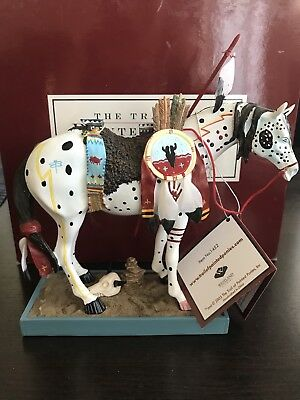 The Trail Of Painted Ponies #1452 War pony