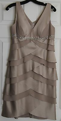 Alex Evenings Wedding Mother Of The Bride/Groom Dress with Jacket, 12 Petite