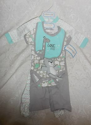 CUTIE PIE 5 PIECE SET INFANT BABY NWT 0-3 MONTHS PERFECT GIFT SET~Free Shipping