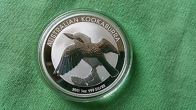 2011 Australia Kookaburra 1 oz. Silver Coin - Uncirculated from Perth Mint